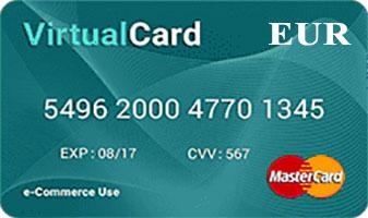 Vpayment | مستر کارت - یورو - طلایی ، صدور رایگان ، با کمترین نرخ شارژ