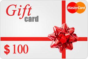 Vpayment | صدور رایگان و آنی مسترکارت هدیه - 100 دلار ، گیفت کارت