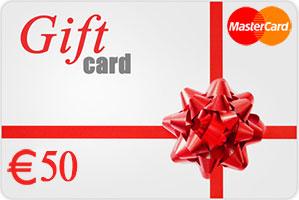 Vpayment | صدور رایگان و آنی مسترکارت هدیه - 50 یورو ، گیفت کارت