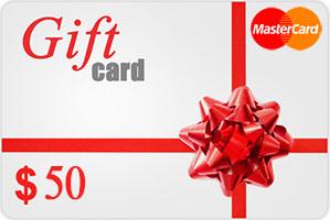 Vpayment | صدور رایگان و آنی مسترکارت هدیه - 50 دلار ، گیفت کارت