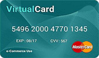 Vpayment | مستر کارت نقره ای ( دلار ، یورو ، پوند )، صدور رایگان ، با کمترین نرخ شارژ